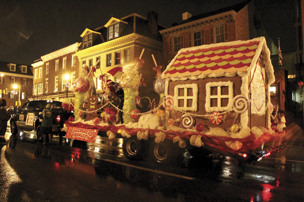 West Chester Old Fashioned Christmas Parade Photos