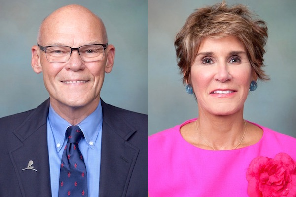 James Carville and Mary Matalin scheduled to visit West ...